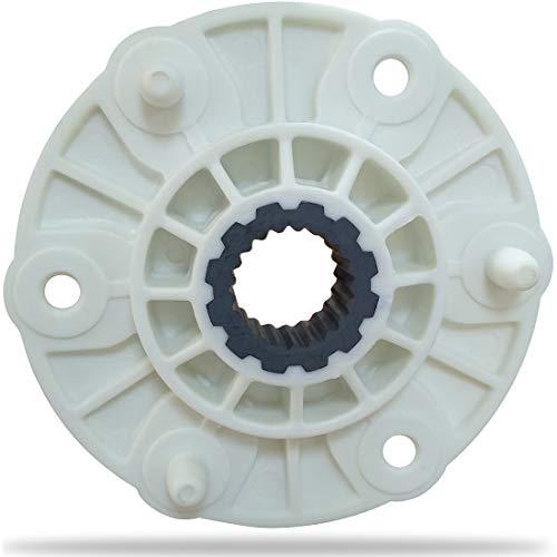 MBF618448 PBT-GF30 Washer Rotor Hub Assembly Compatible With LG Washing for 4413EA1002B 4413ER1001C 4413ER1002F 4413ER1003B