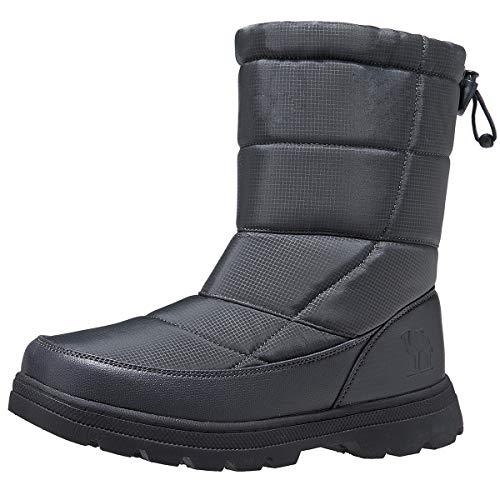 CAMEL CROWN Damen Desert Boots Homer, Männer Stiefeletten, Lammfell gefüttert Damen Winterstiefel Warme Gefüttert Winterschuhe rutschfest Klassische Winter Boots