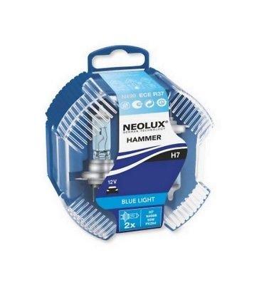 NEOLUX N499B H7 12V 55W PX26d HAMMER Blue Light 2 Stück in Doppelbox NEOLUX® by OSRAM