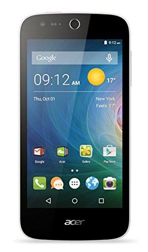 Acer Liquid Z330 Dual-SIM LTE Smartphone (11,3 cm (4,5 Zoll) IPS Display, 854 x 480 Pixel, Quad-Core-Prozessor, 5 Megapixel, 1GB RAM, 8GB Speicher, Android 5.1) weiß
