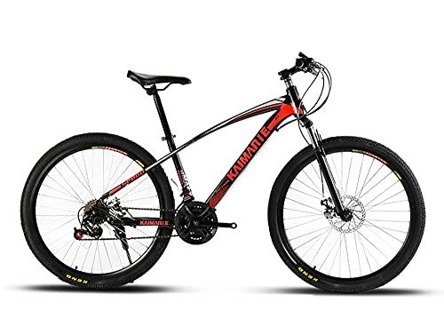 Juventud / adulto 21-velocidad 26 pulgadas viento roto habló ruedas bicicleta de montaña estudiante multifuncional bicicleta de montaña, suspensión delantera de la bicicleta de montaña, colores múltip