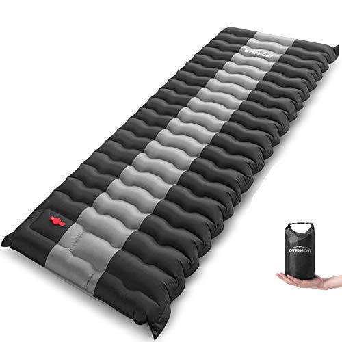 Overmont Camping Isomatte Luftmatratze Aufblasbar 12cm Dick Selbstaufblasbare...