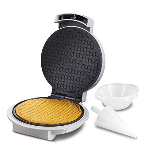 Buy Proctor Silex Waffle Cone and Ice Cream Bowl Maker with Browning Control, Shaper Roller and Cup ...