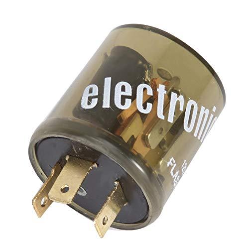 Relé Intermitente De Estilo Redondo, Intermitente De Luz Intermitente, Relé Intermitente De 3 Pines De 12 V Para Accesorios De Coche