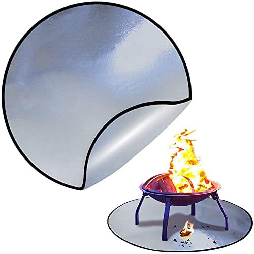 Ranking TOP16 N\C Round Fireproof Mat for Outdoor Fire Fir Patio Deck Pit and Max 71% OFF