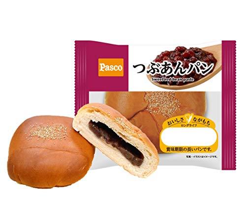 パスコ ロングライフブレッド つぶあんパン 10個入