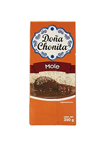 Dona Chonita Mole/Gewürzpaste mit Chili Poblano , 2er Pack (2 x 350 g)