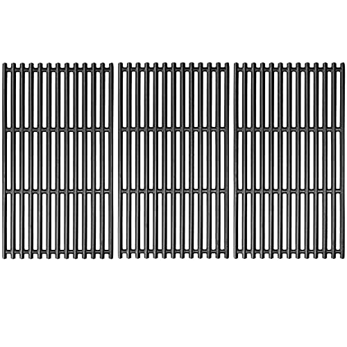 Uniflasy 17 Inch Cooking Grate for Charbroil 463242715 463242716, 463276016, 466242715, 466242815, G533-0009-W1, Nexgrill 720-0882A, 720-0882D, BHG 720-0882, Lowe's 606682 Gas Grills Cast Iron Grid