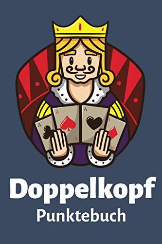 Doppelkopf Punktebuch: Punkteblock mit Tabellen für deine Doko Spielrunde | 106 Punktetabellen DIN A5 zum Ausfüllen | Für 4 Doppelkopfspieler