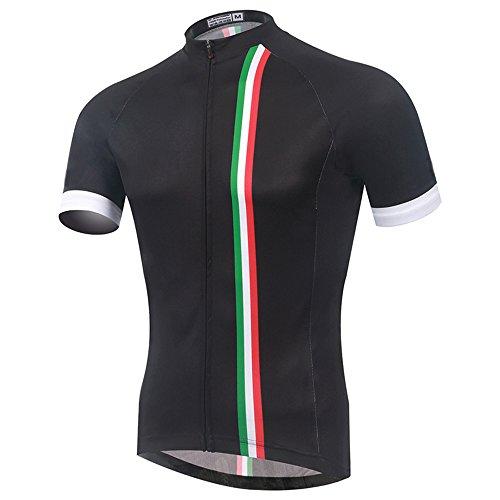 SpozFashion TeyxoCo Nuovo Uomini Italia Ciclismo Sportivo Jersey Top XL