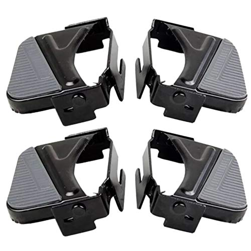 Review BESPORTBLE 2 Sets Bike Rear Pedal Bike Foot Pedal for Road Mountain Bike Children Safety Acce...
