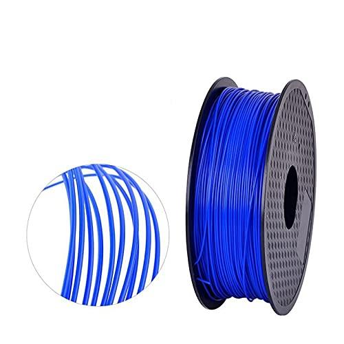 Filament 1.75 für 3D-Druck,DYBITTS 1kg 3d Drucker Filament Spool für 3D Drucker und 3D (Blau)