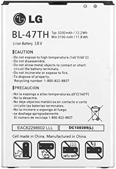 Original 3200mAh LG Battery BL-47TH for Max 89% OFF Sale BL47TH D6 EAC62298607