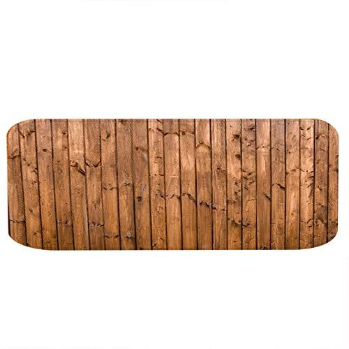 Changor Sauber Boden Matte, Speicher Schaum Bad Holz Getreide Stil 40 x 60 cm Polyester zum Familie Kosten