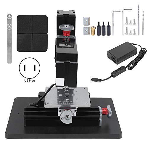 Save %20 Now! FTVOGUE Metal Drilling Machine High Power with Powerful Motor TZ20004M 60W US Plug 100...