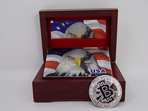 Big Texas Mall Gift Box w/Silver Ea…