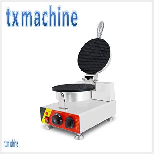 TX® Waffeleisen Eis Waffel Kegel Maschine Single head Professionelles Waffeleisen Waffle Baker mit zwei Formen(220V/50HZ)