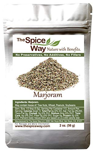 The Spice Way Marjoram Leaves - ( 2 oz ) pure ground dried leaf