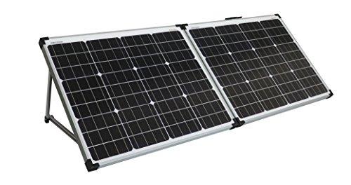 enjoysolar® Solarkoffer faltbare Solarmodule einfach plug and load (100W (2 * 50W))