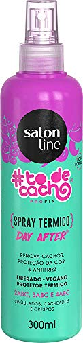Spray Térmico #Tô de Cacho - Renova Cachos Liberado, 300ml, Salon Line, Salon Line