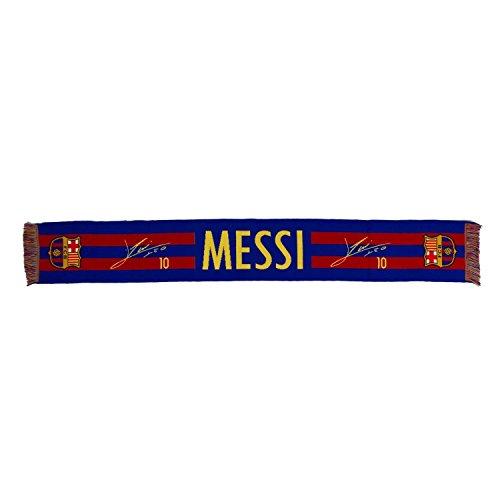 Echarpe officielle FC Barcelone Signature blason Messi- 140