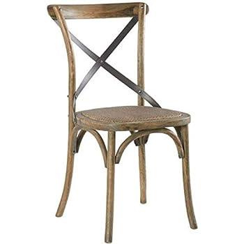 Casita Chaise bistrot en chêne: : Cuisine & Maison