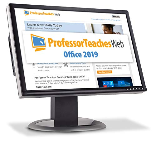 Professor Teaches Web - Office 2019 - Annual Subscription [PC Online code]