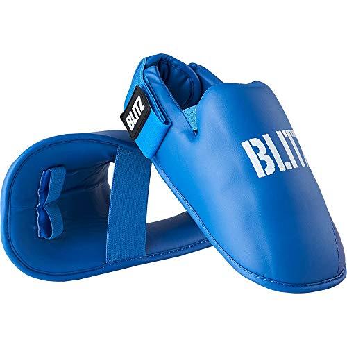 Blitz Elite Fußschutz, blau, XS