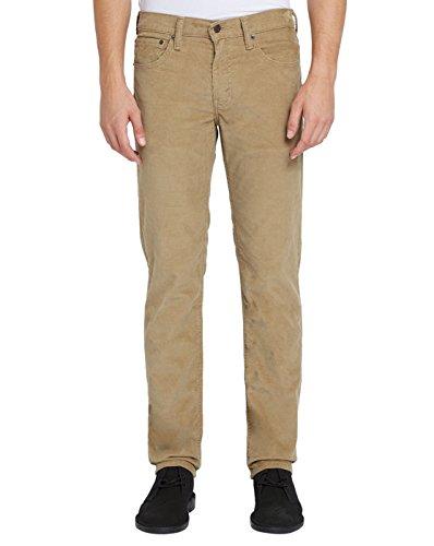 Levi's, jeans da uomo 511, vestibilità aderente beige. 30W x 30L