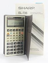 Sharp EL-735 Business/Data Calculator & Owner's Manual