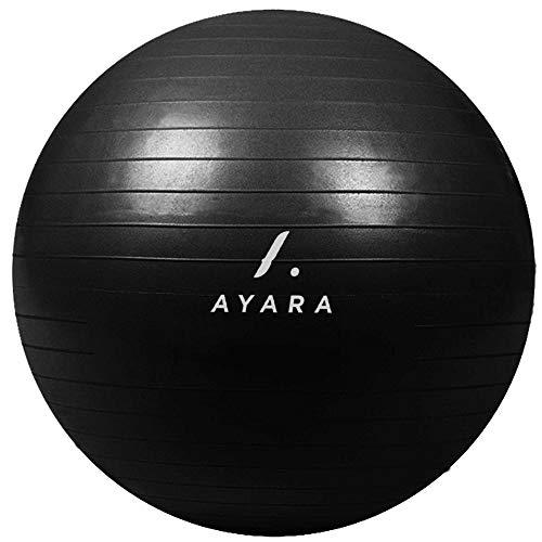 Pelota De Pilates Gris  marca AYARA