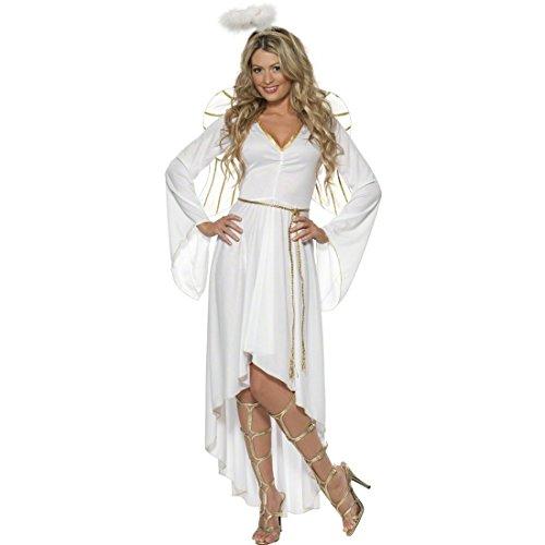 NET TOYS Tenue d'ange Femme Déguisement d'ange Costume d'Anges Costume de Noël Déguisement de Noël Costume de Femme L 46/48
