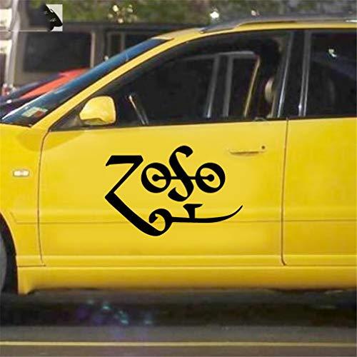 adesivi da auto Tablet Zoso Symbol Jdm Funny Vinyl Decal Sticker Window Bumper Laptop 12.7Cm