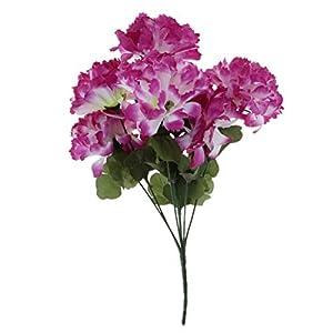 joyMerit Silk Chrysanthemum Flower Artificial Bouquet Cemetery Flowers Home Decoration