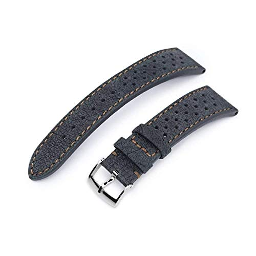 Cinturino per orologio in pelle con cinturino 20mm o 22mm MiLTAT Rally...
