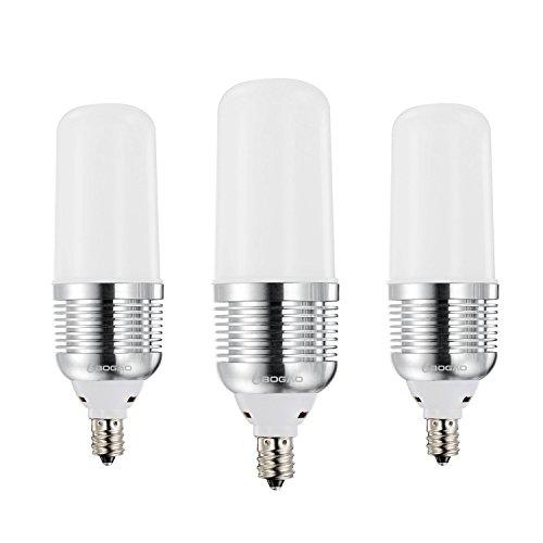 BOGAO (3 Pack) 15 W E14 LED CRON Lampe, 100-120 Watt Leuchtmittel, Entspricht E14 Kandelaber Base, 1500 Lumen LED-Lichtern, (warmweiß 3000 K), warmweiß, E14, 15.00 wattsW 230.00 voltsV