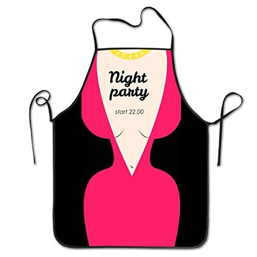 Conjunto de uniforme de ama de llaves para mujer en 3D, delantal de Cosp blanco y negro, tema de cocina, chef, taller de trabajo, mujeres, hombres, adultas, tejedoras, decoraciones para hornear, pintu