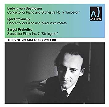 Beethoven, Stravinsky & Prokofiev: Piano Works (Live)