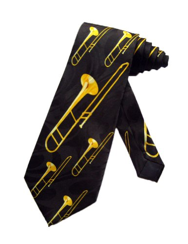 Steven Harris cravate Trombone - Noir - taille unique