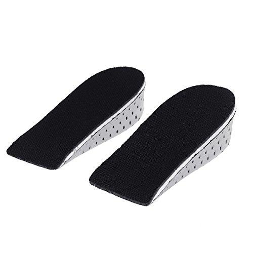 Memory Foam Invisibile Altezza Aumentare Sottopiede Soletta traspirante Cuscino per scarpe Taller Lifts Inserti per scarpe Pads for Men and Wowen 4cm