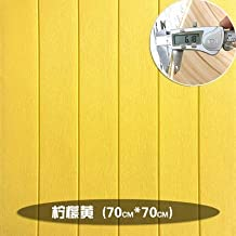 MUMUWU Wallpaper Self-adhesive Bedroom Warm 3d Stereo Wall Stickers Girl Living Room Background Wall Paper Decorative (Col...