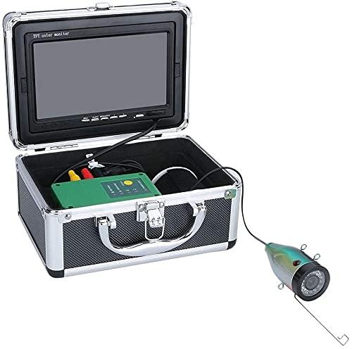 WSVULLD Finder de 7 Pulgadas Finder Cámara de Pesca submarina 15pcs LED Blancos + 15pcs Lámpara infrarroja 1080p Cámara para la Pesca con Hielo, 15m (Size : 15M)