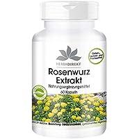 Extracto de Rhodiola rosea 500mg – 3% de rosavina – 1% salidrósidos – 60 cápsulas