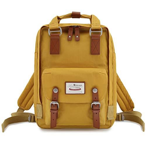 himawari 15 Inch School Travel Backpack for Women Men Waterproof 14 inch Laptop Compartment Bag for College (HIM-49#)