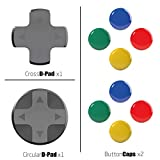 Skull & Co. D-Pad Button Cap Set for Nintendo Switch...