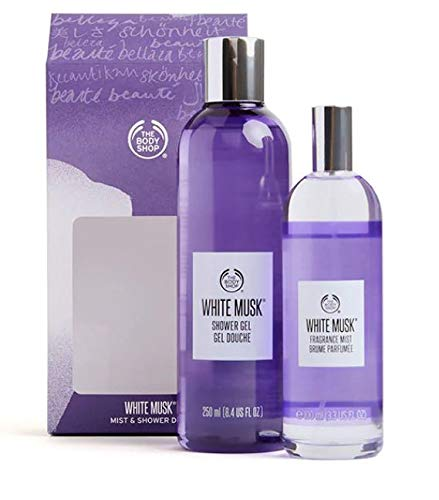 The Body Shop White Musk Set 100ml Körperspray 250ml Duschgel