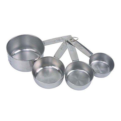 Faringdon Set 4 dosatori in acciaio INOX 60, 80, 125, 250 ml