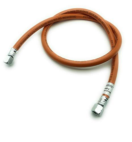Gasschlauch Propan 1/4 lks x 1/4 lks - PVC, Schlauchlänge:2 m
