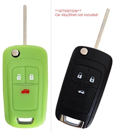 CK Suzuki Auto-Schl/üssel H/ülle Key Cover Case Etui Silikon f/ür Swift Alto Ignis Splash Baleno Rot