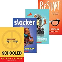Gordon Korman 4-Pack; Slacker, Restart, Ungifted & Schooled.
